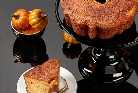 Viennese Coffee Cake - Pumpkin