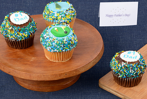 CRUMBS Signature Fathers Day Cupcakes