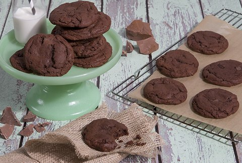 Double Fudge Cookies