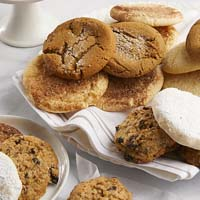 Zoomed in Image of Two Dozen Assorted Gourmet Cookies (military)