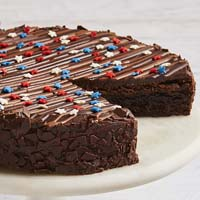 Zoomed in Image of The Freedom Cake