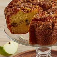 Zoomed in Image of Viennese Coffee Cake - Granny Apple