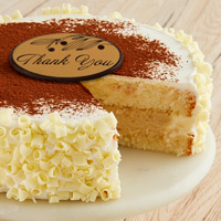 Zoomed in Image of Tres Leches Cake