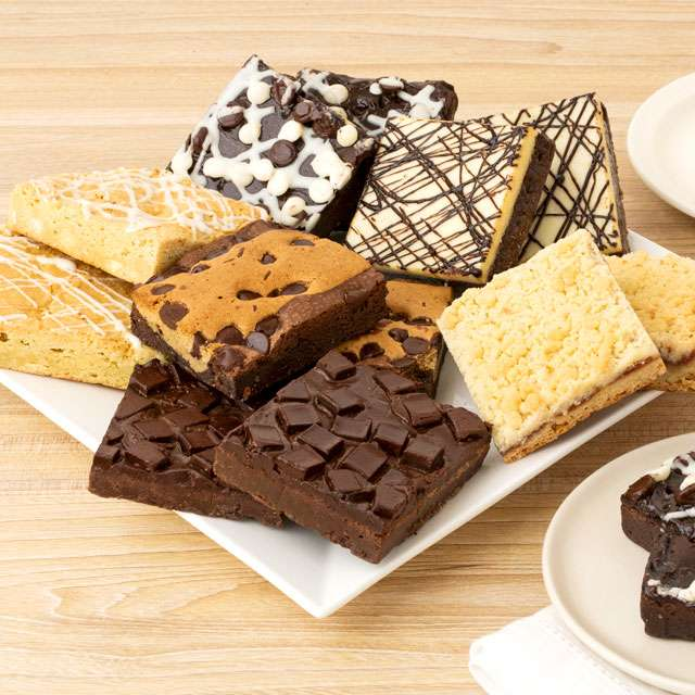 image of One Dozen Assorted JUMBO Brownies
