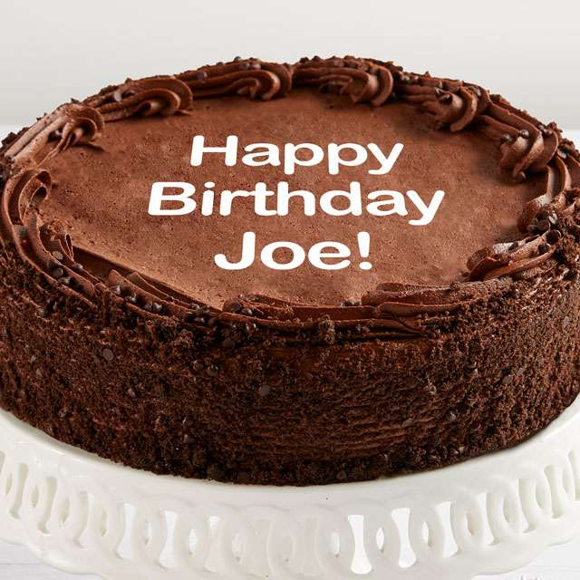 Image of Personalized 10-inch Chocolate Cake
