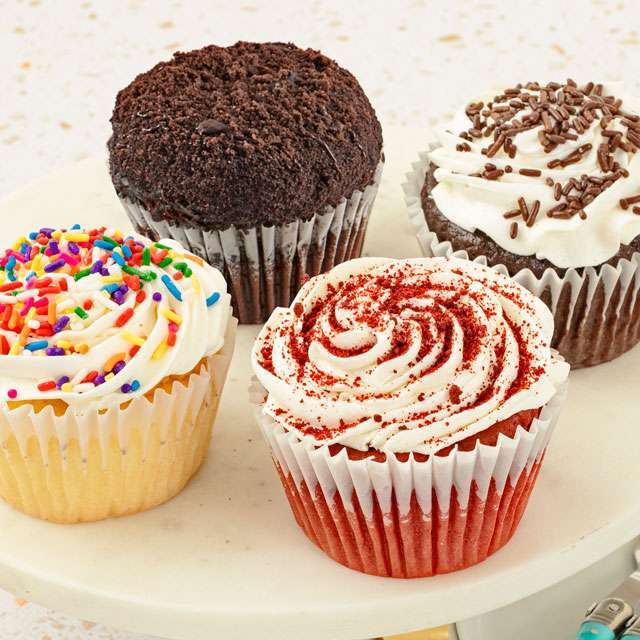 Image of Gluten-Free Jumbo Assorted Cupcakes