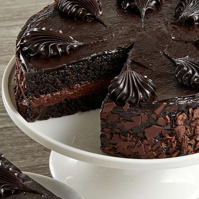image of Chocolate Mousse Torte Cake