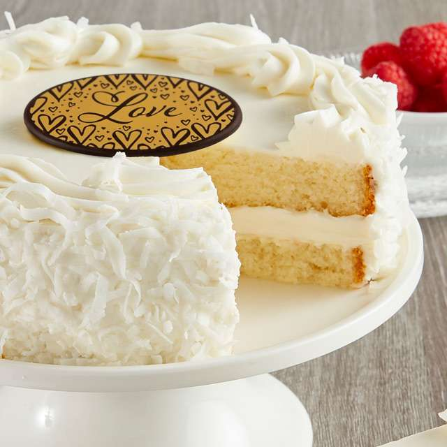 image of Coconut Cream Cake