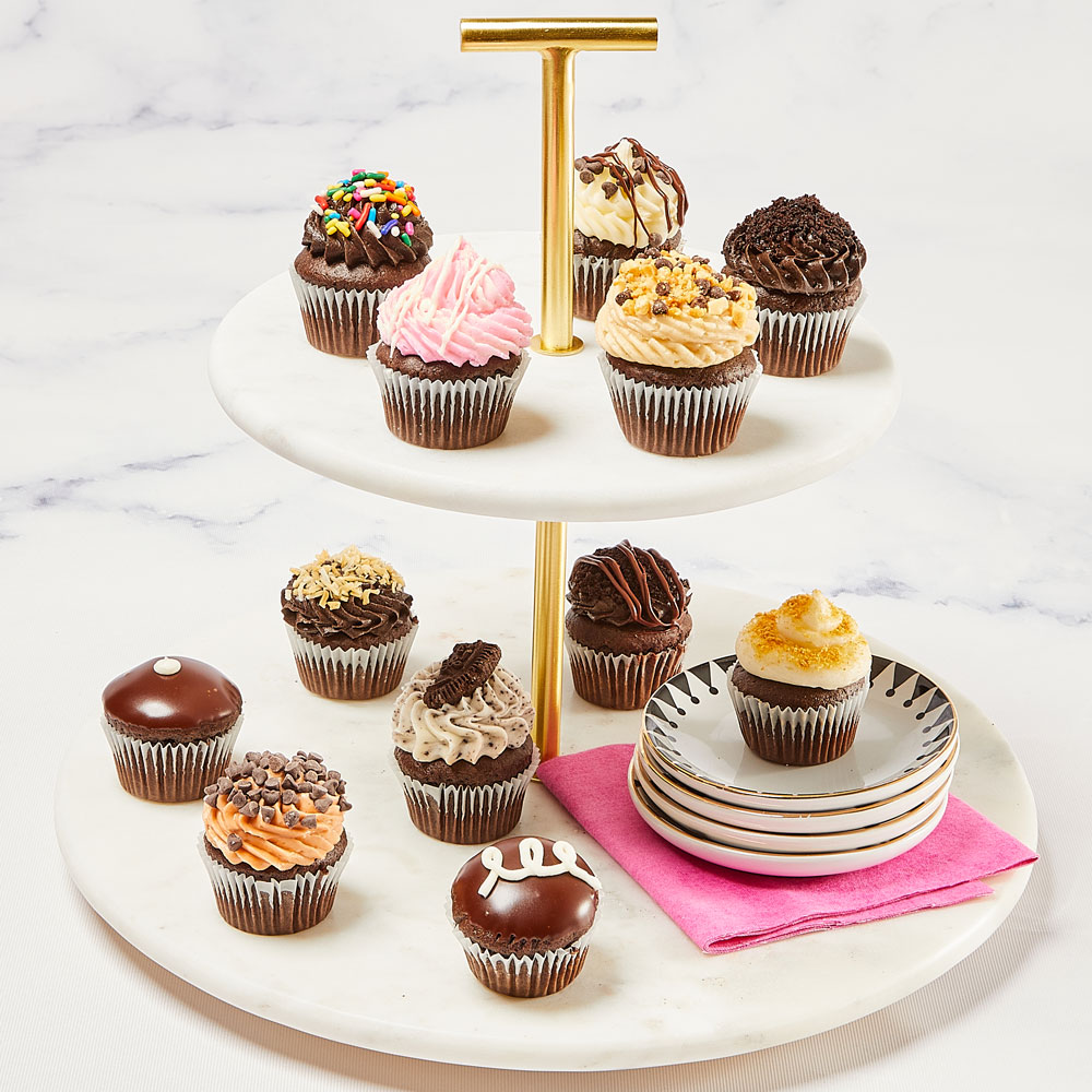 Mini Chocolate Lovers Cupcakes