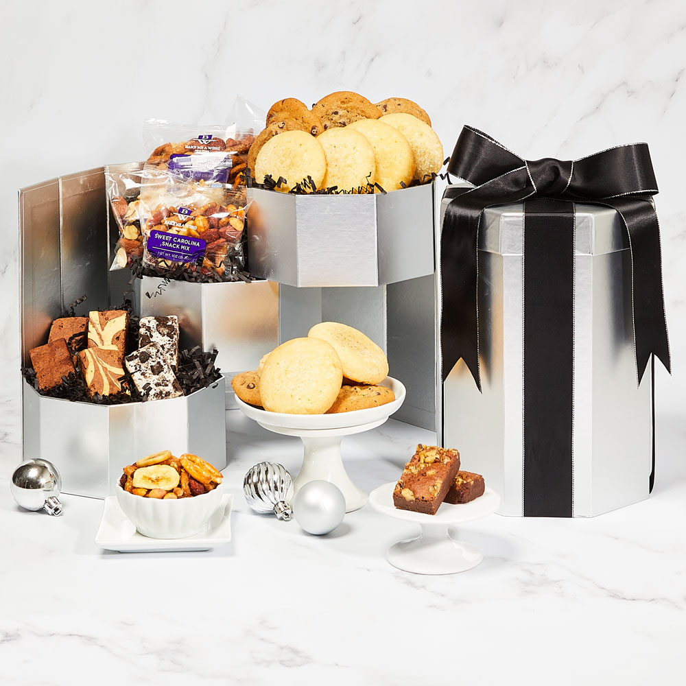 Silver Boutique Bakery Gift