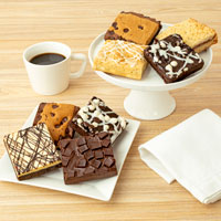 Wide View Image Assorted JUMBO Brownie Sampler