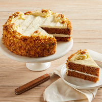 Wide View Image Carrot Cake