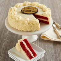 Wide View Image Red Velvet Chocolate Cake