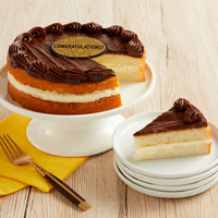 Wide View Image Boston Cream Cake