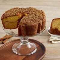 Wide View Image Viennese Coffee Cake - Cinnamon (military)