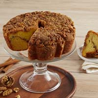 Wide View Image Viennese Coffee Cake - Cinnamon and Walnuts (military)