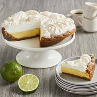 Wide View Image Key Lime Pie