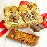 Wide View Image The Breakroom Snack Basket