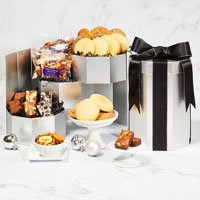 Wide View Image Silver Boutique Bakery Gift