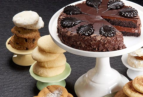 Classic Cake and Two Dozen Assorted Cookies