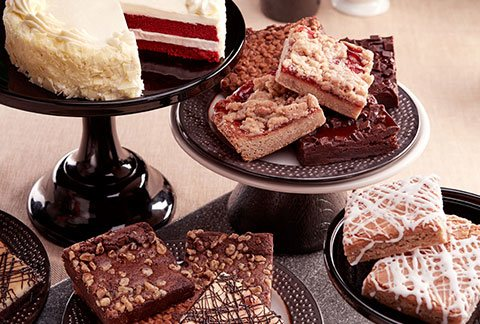 Classic Cake and 8pc Gourmet Brownies