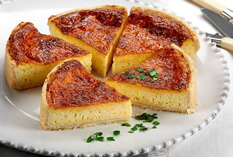 Four Cheese Quiche