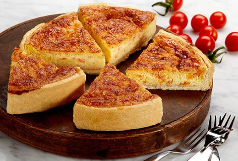 Bacon Tomato Quiche