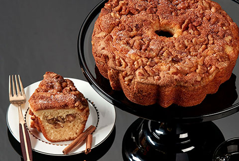 Viennese Coffee Cake - Cinnamon and Walnuts (military)